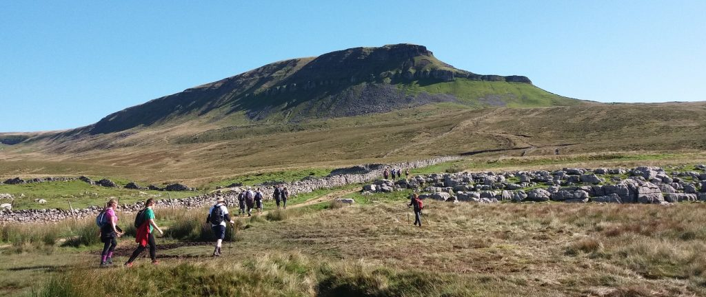 Our view of the 2nd peak - Pen-y-ghent